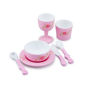 New Classic Toys - Servies-Dinerset - Roze