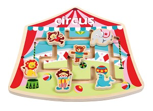 Lelin Toys - Puzzle Labyrinth - Zirkus