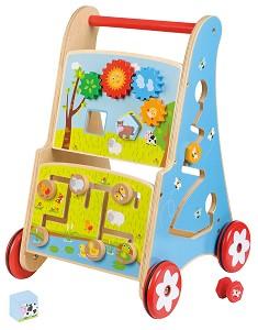 Lelin Toys - Activiteiten Duw-  Loopwagen