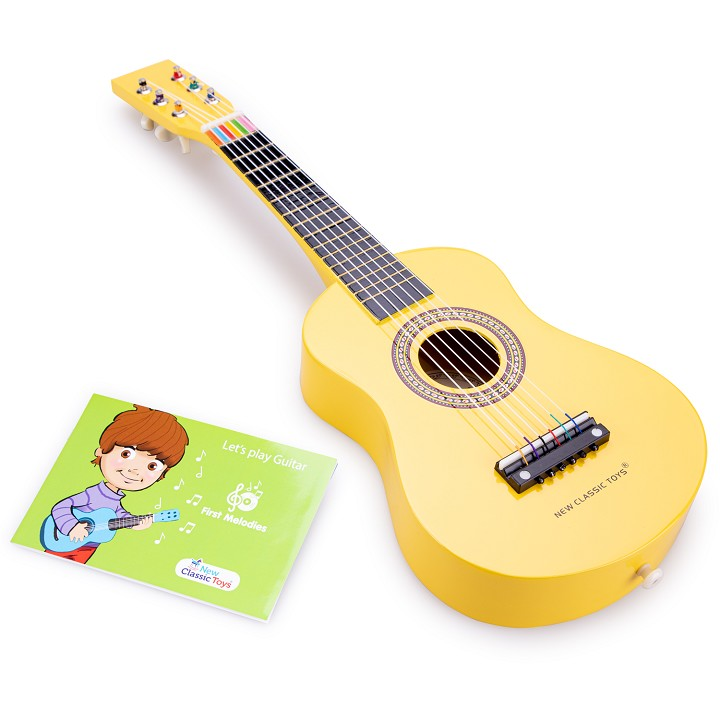 New Classic Toys - Gitarre - Gelb
