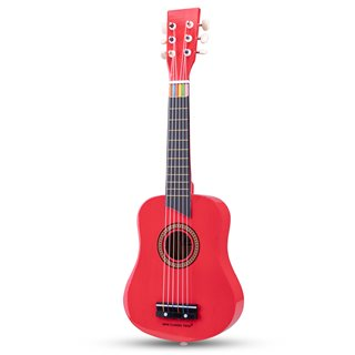 New Classic Toys - Gitarre - De Luxe - Rot