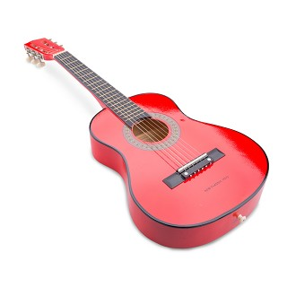 New Classic Toys - Kindergitarre - Professionell - Rot