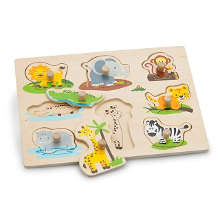 New Classic Toys - Steckpuzzle - Dschungel