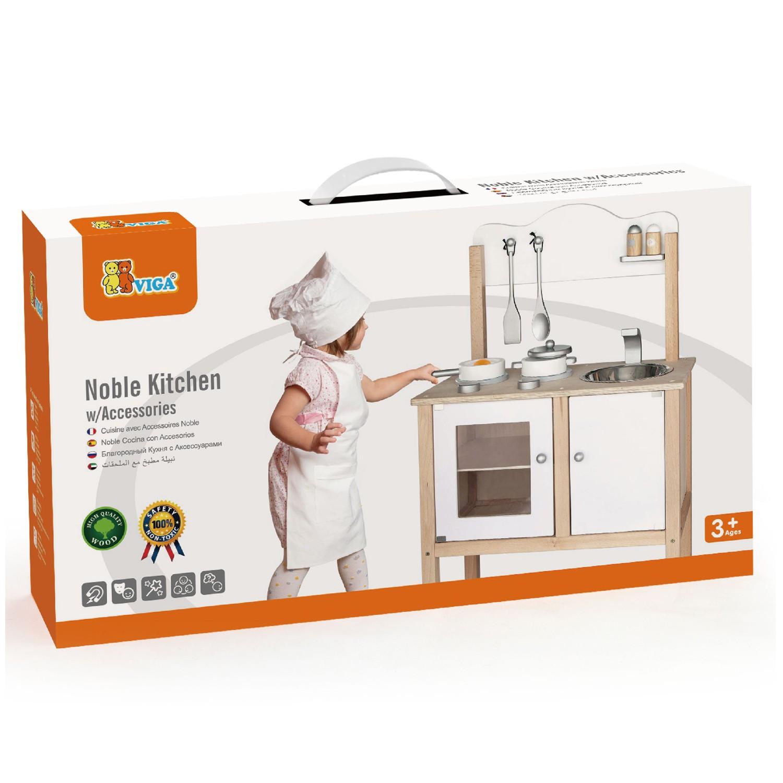 Viga Toys - Kinderküche - Weiß | New Classic Toys