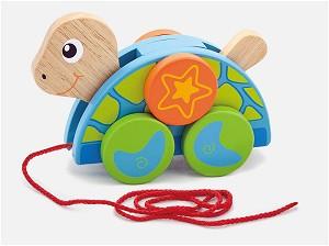Viga Toys - Ziehtier - Schildkrötenfamilie