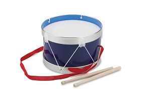 New Classic Toys - Trommel - Blau -  Ø 22 cm