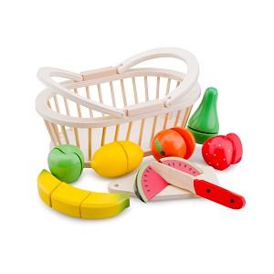 New Classic Toys - Schneideset Obstkorb
